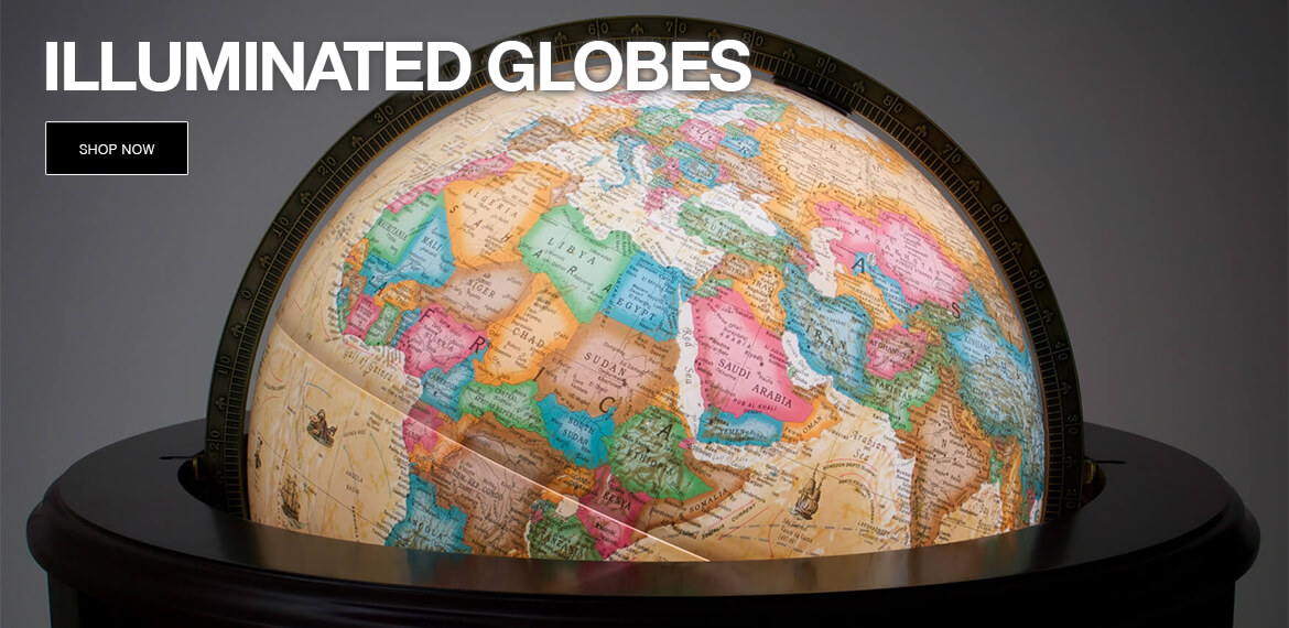 Shop Illuminated Globes